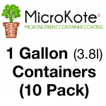 MicroKote Treated 1 Gallon Containers 10 Pots