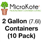 MicroKote™ Coated 2 Gallon Containers- 10 Pots