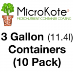 MicroKote™ Coated 3 Gallon Containers - 10 Pots